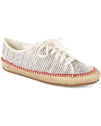 Aerin - Norumbege Striped Mesh Shoes - Lyst