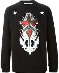 Givenchy Anchor Print Sweatshirt - Lyst