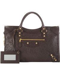 Balenciaga Giant 12 Golden City Bag Dark Gray - Lyst