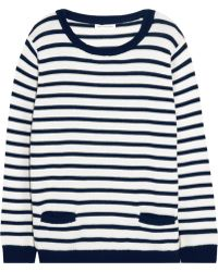 Chinti And Parker Striped Merino Wool Sweater - Lyst