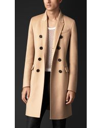 Burberry Double Cashmere Chesterfield - Lyst