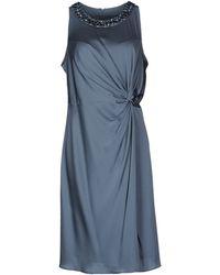 Armani Kneelength Dress - Lyst