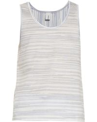 Robinson Les Bains - Striped Cotton-Jersey Vest - Lyst