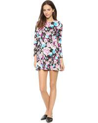 Tbags Los Angeles Scuba Dress  Floral - Lyst