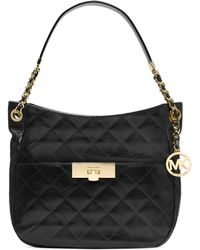 Michael Kors Michael Susannah Lock Medium Shoulder - Lyst