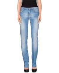 Gianfranco Ferré Denim Pants blue - Lyst