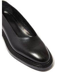 Yang Li - Womens Asymmetric Flat Premium Leather Shoes - Lyst