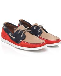 Timberland Leather Boat Shoes - Lyst