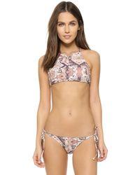 Bec & Bridge - Mandala Bib Bikini Top - Lyst