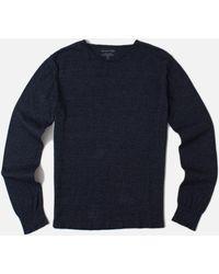 Save Khaki Garment Dye Roll Neck Sweater - Lyst