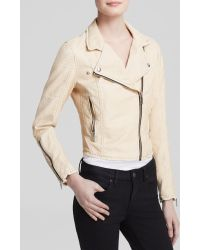 Blank NYC Jacket - Faux Leather Moto - Lyst