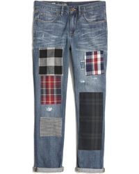Madewell The Patchwork Edition The Boyjean - Lyst