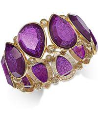 Style & Co. - Amy Filigree Teardrop Stretch Bracelet, Only At Macy's - Lyst