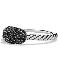 David Yurman Petite Pavé Ring With Diamonds - Lyst