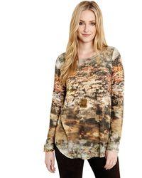 Karen Kane Mesa Mirage Print Sweater - Lyst