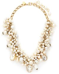 Erickson Beamon ''Pearl Jam' Swarovski Faux Pearl Crystal Necklace - Lyst