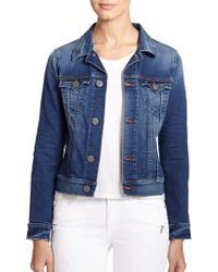 True Religion Dusty Denim Jacket - Lyst