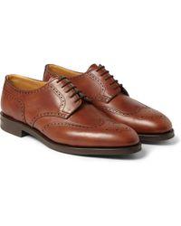 John Lobb Darby Ii Leather Oxford Brogues - Lyst