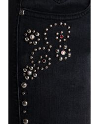 Frankie B. Jeans - Nevada Stud Skinnies - Lyst