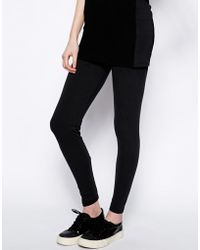 Earth Couture - Legging with Mesh Skirt - Lyst