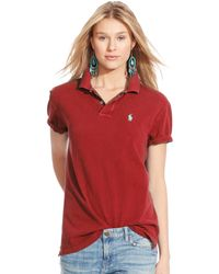 Polo Ralph Lauren Boyfriend Polo Shirt - Lyst