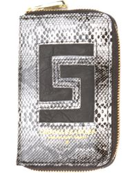 Crooks And Castles The Reptillo Zip Wallet - Lyst
