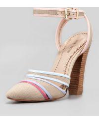 Pour La Victoire Kiran 2 Ankle Wrap Sandal - Lyst