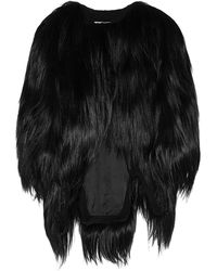 Antonio Berardi Goat Hair Jacket - Lyst