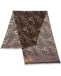 Diane von Furstenberg | Hanovar Leopard-print Scarf | Lyst