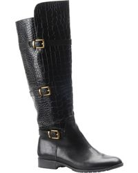 Isola - Gabriella Leather Knee-High Boots - Lyst