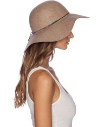 Lovely Bird - Biarritz White Tibetan Wrap Hat - Lyst