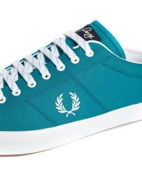 Fred Perry Howells Twill Sneakers - Lyst