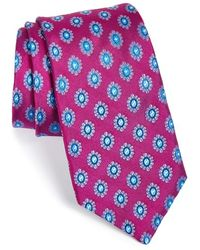 Ted Baker Men'S Medallion Silk Tie - Lyst