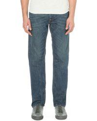 Diesel Waykee Regular-fit Straight Jeans 30 - Lyst