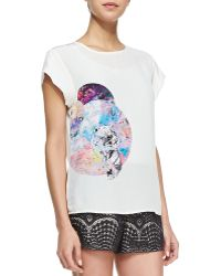 Twelfth Street by Cynthia Vincent Animalgraphic Loose Tee - Lyst