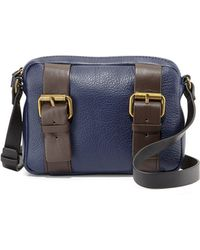 Kelsi Dagger Grasslands Buckled Leather Crossbody Bag - Lyst