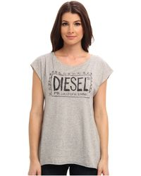 Diesel Taleu Tee - Lyst
