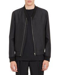 Balenciaga Asymmetric-Zip Bomber Jacket - Lyst
