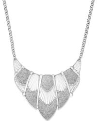 Style & Co. - Glitter Cut-out Bib Necklace - Lyst