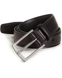 Ralph Lauren Ascot Buckle Leather Belt - Lyst