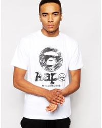 Aape - By Bathing Ape T-Shirt With Circle Print - Lyst
