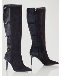 Lauren by Ralph Lauren Haircalf Vallerie Boot - Lyst