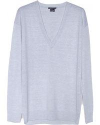 Theory Trulinda Stripe Sweater - Lyst