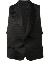 Haider Ackermann Flare Waistcoat - Lyst