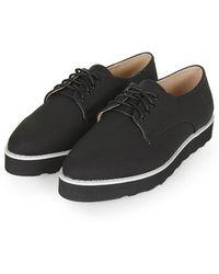 Topshop France Lace-Up Shoes - Lyst