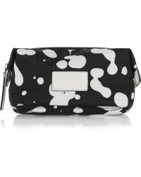 Marc By Marc Jacobs - Printed Canvas Cosmetics Case - Lyst