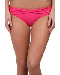Seafolly Goddess Twist Band Mini Hipster Bottom - Lyst