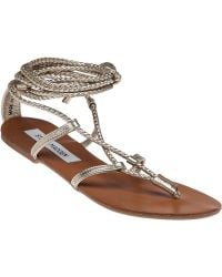 Steve Madden | Werkit Leather Sandals | Lyst
