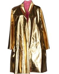 Gianluca Capannolo Full-Length Jacket gold - Lyst