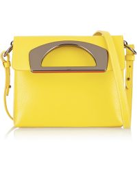 Christian Louboutin Passage Textured-Leather Shoulder Bag - Lyst